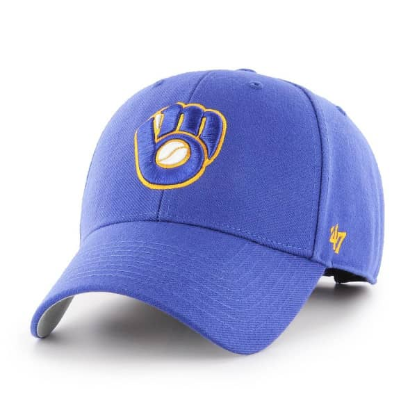 Milwaukee Brewers '47 MVP Adjustable MLB Cap Blau