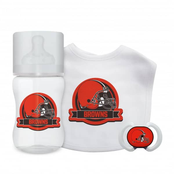 Cleveland Browns NFL Baby First Fan Set (3-Teilig)