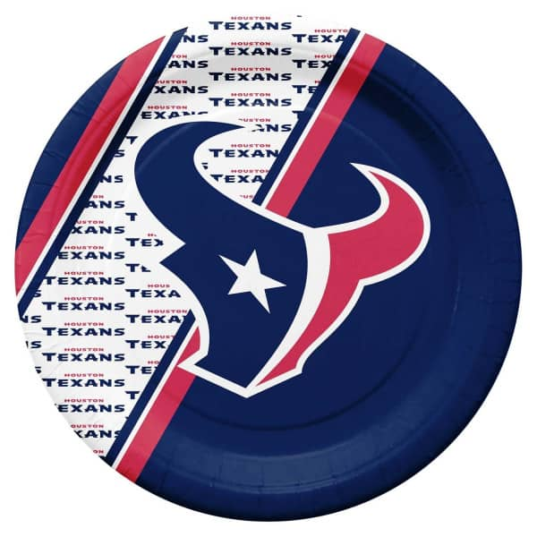 Houston Texans Partyware NFL Pappteller Set (20 Stk.)