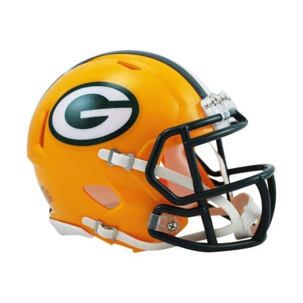 Green Bay Packers American Football NFL Speed Mini Helm