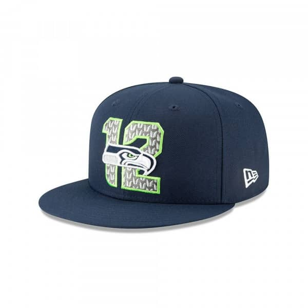 Seattle Seahawks 2019 NFL Draft On-Stage 59FIFTY Fitted Cap