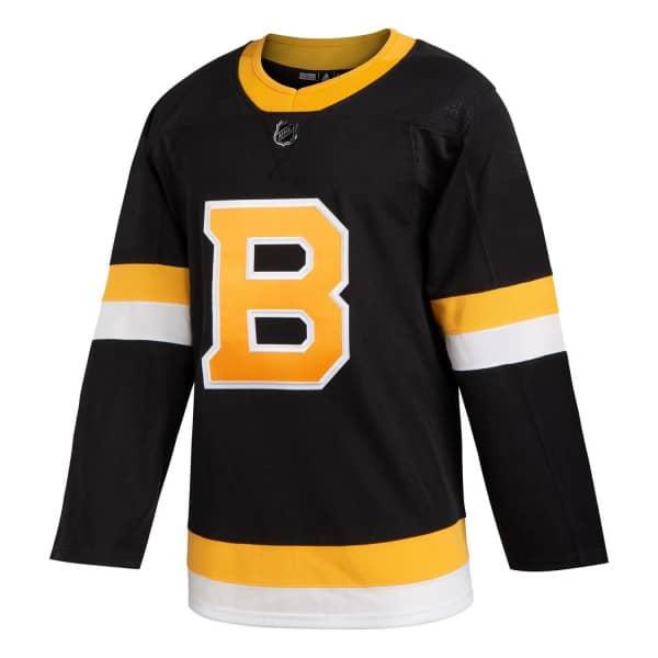 Boston Bruins adidas Authentic Pro NHL Trikot Alternate Schwarz