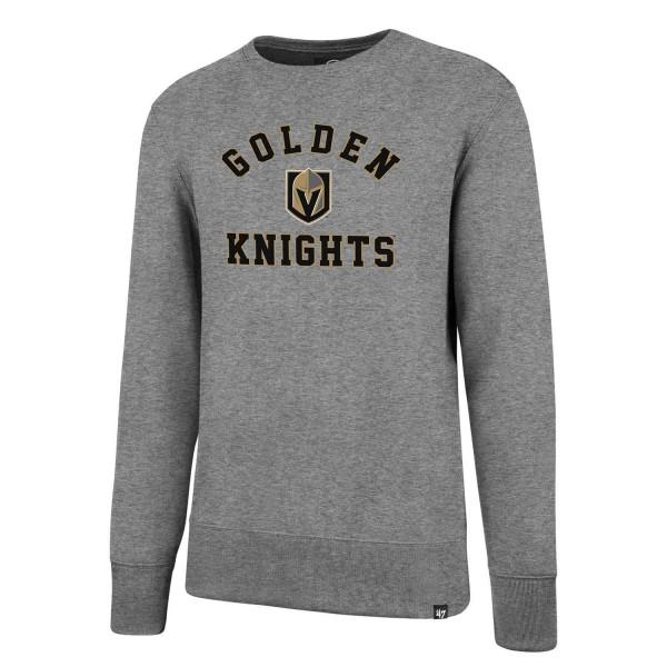 3d5c823b926 47 Brand Vegas Golden Knights Varsity Arch Crewneck NHL Sweatshirt ...
