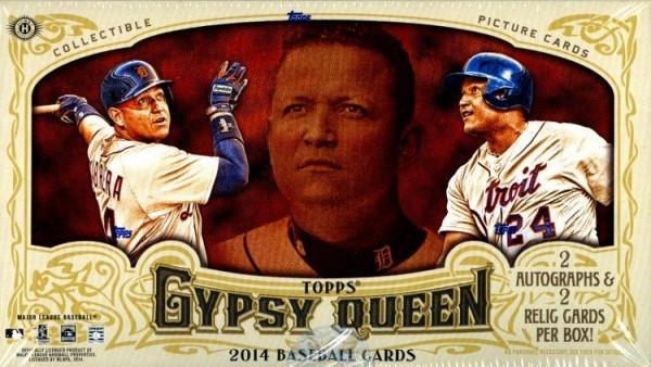 2014 Topps Gypsy Queen Baseball Hobby Box MLB