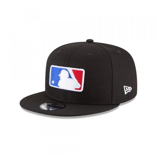 MLB Basic Logo Snapback Baseball Cap Schwarz
