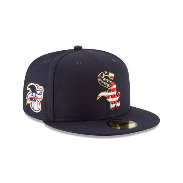 promo code 98fe5 7944a Chicago White Sox 4th of July 2018 59FIFTY Fitted MLB Cap
