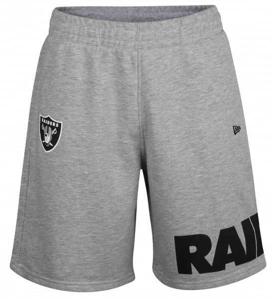 9fddfcacc New Era Oakland Raiders Wrap Around NFL Shorts Grey