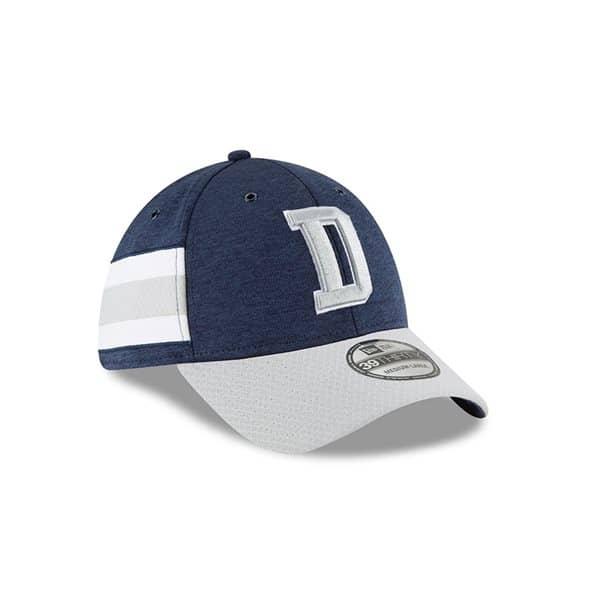 Dallas Cowboys 2018 NFL Sideline 39THIRTY Flex Cap Home