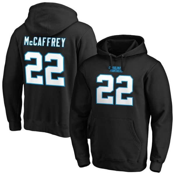 Christian McCaffrey #22 Carolina Panthers Fanatics Player NFL Hoodie