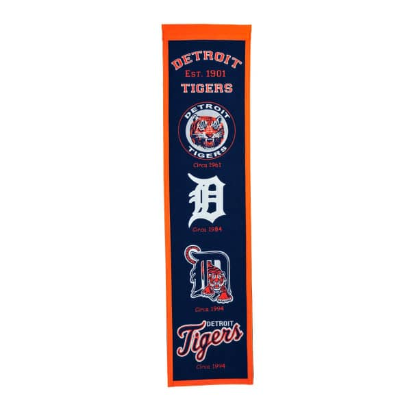 Detroit Tigers MLB Premium Heritage Banner
