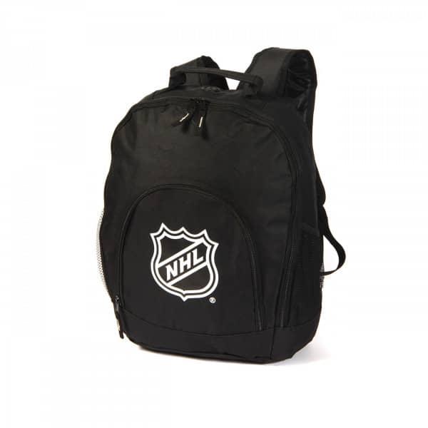 NHL Logo Black Eishockey Rucksack