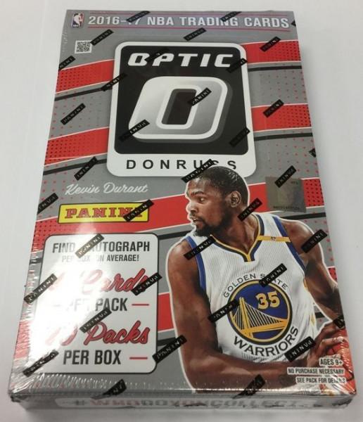 2016/17 Panini Donruss Optic Basketball Hobby Box NBA