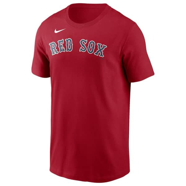 Boston Red Sox Wordmark Nike MLB T-Shirt Rot