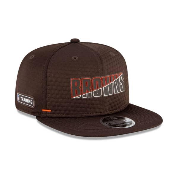 Cleveland Browns 2020 Summer Sideline New Era Original Fit 9FIFTY Snapback NFL Cap