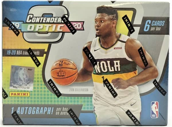 2019/20 Panini Contenders Optic Basketball Hobby Box NBA