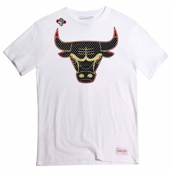 Chicago Bulls Gold Logo NBA T-Shirt