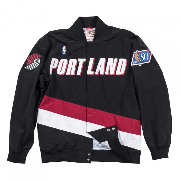 Portland Trail Blazers 1996-97 Authentic Warm Up Mitchell & Ness NBA Jacke