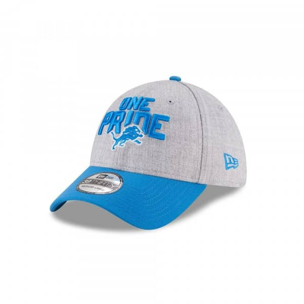 purchase cheap a8e80 83884 New Era Detroit Lions 2018 NFL Draft 39THIRTY Flex Fit Cap   TAASS.com Fan  Shop
