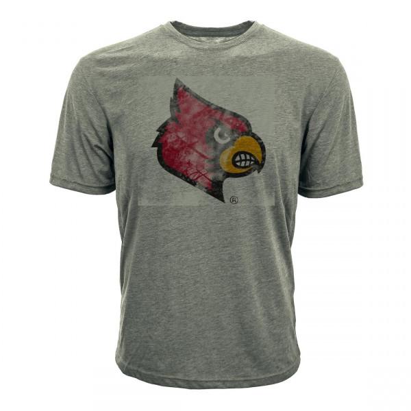 Louisville Cardinals Mascot Logo NCAA T-Shirt