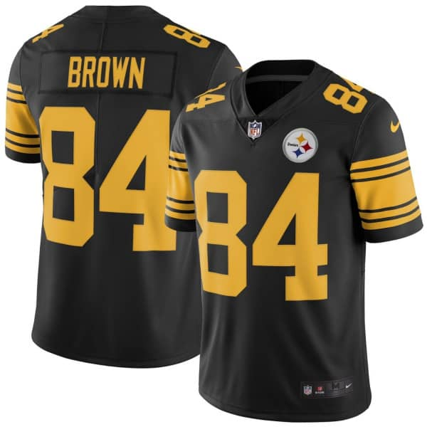 Antonio Brown #84 Pittsburgh Steelers Color Rush Limited NFL Trikot
