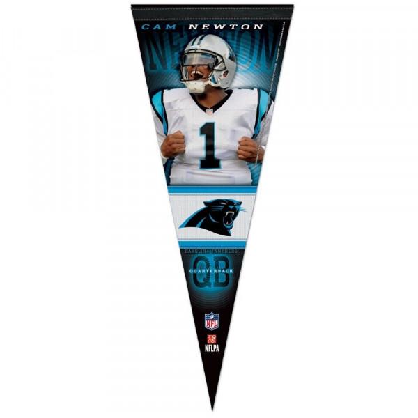 Carolina Panthers Cam Newton Premium NFL Wimpel