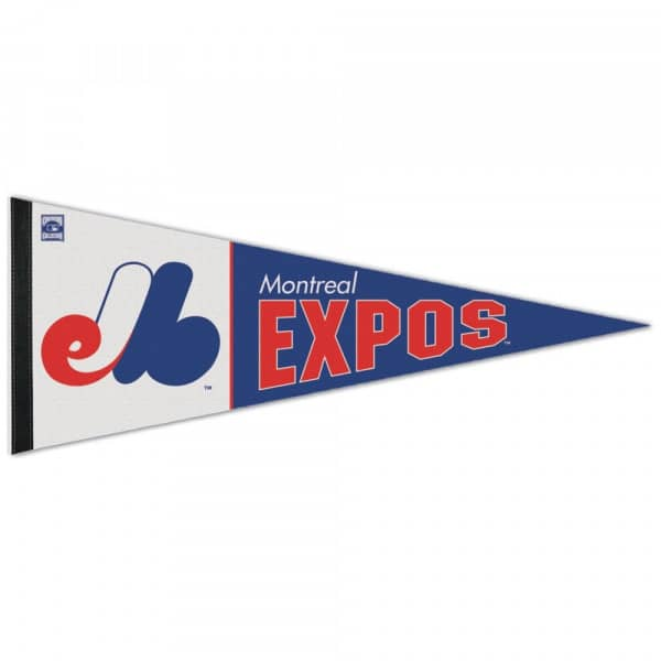 Montreal Expos Cooperstown Premium MLB Wimpel