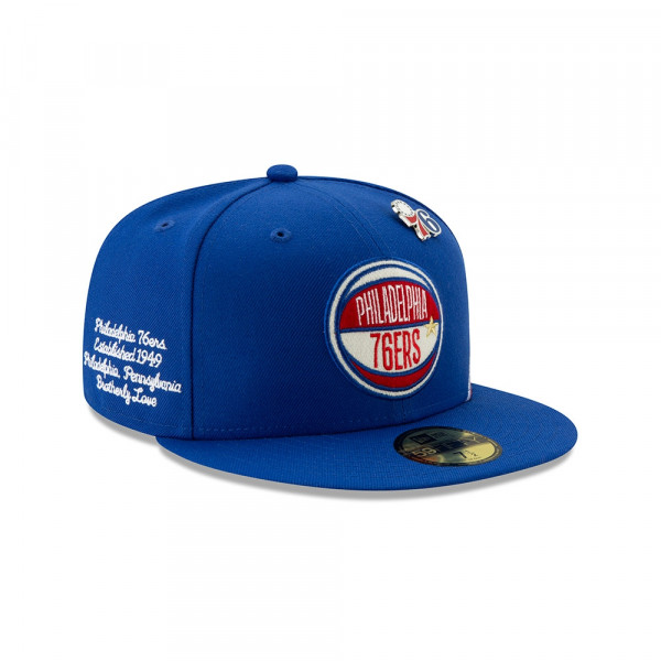 Philadelphia 76ers 2019 NBA Draft 59FIFTY Fitted Cap