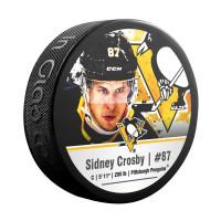 Sidney Crosby Pittsburgh Penguins NHL Player Souvenir Puck