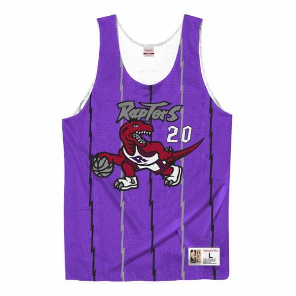 Damon Stoudemire #20 Toronto Raptors Mitchell & Ness NBA Reversible Mesh Jersey