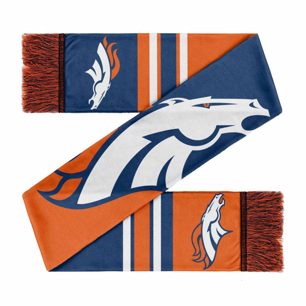 Denver Broncos Colorblock Big Logo NFL Schal
