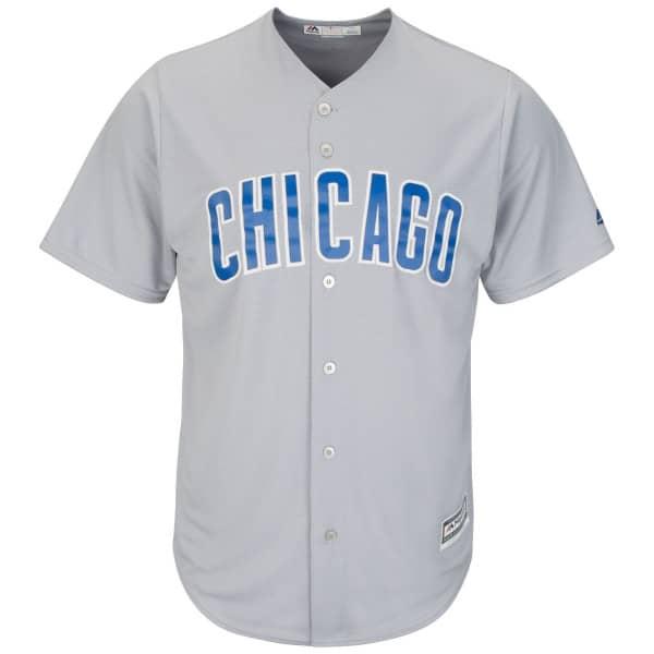 Chicago Cubs Cool Base MLB Trikot Road Grau