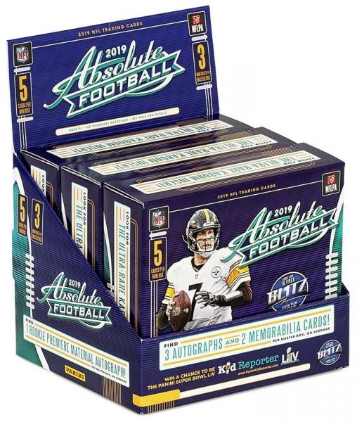 2019 Panini Absolute Football Hobby Box NFL
