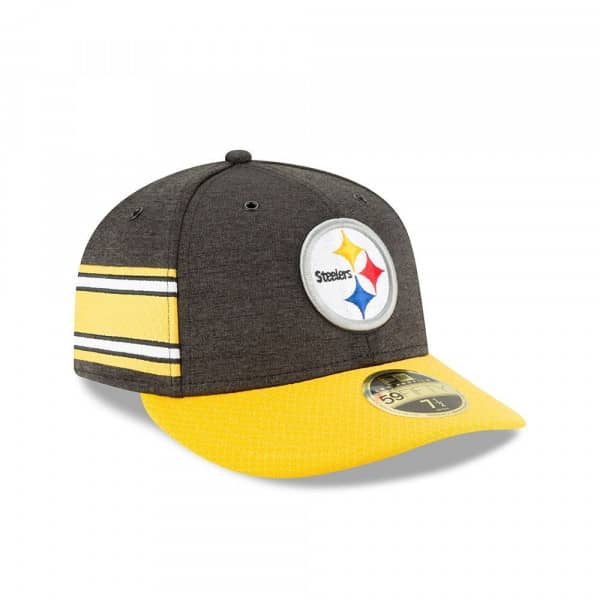 Pittsburgh Steelers 2018 NFL Sideline Low Profile 59FIFTY Cap Home