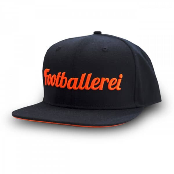 Footballerei Exclusive Wordmark Snapback Cap