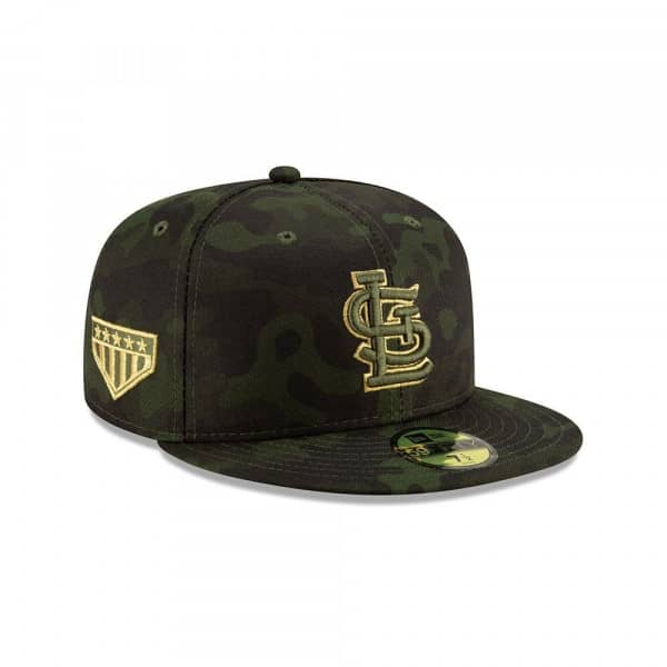 St. Louis Cardinals 2019 Armed Forces Day On-Field 59FIFTY MLB Cap