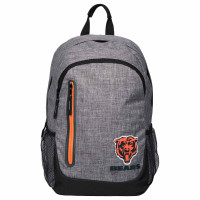 Chicago Bears Bold Grey NFL Rucksack