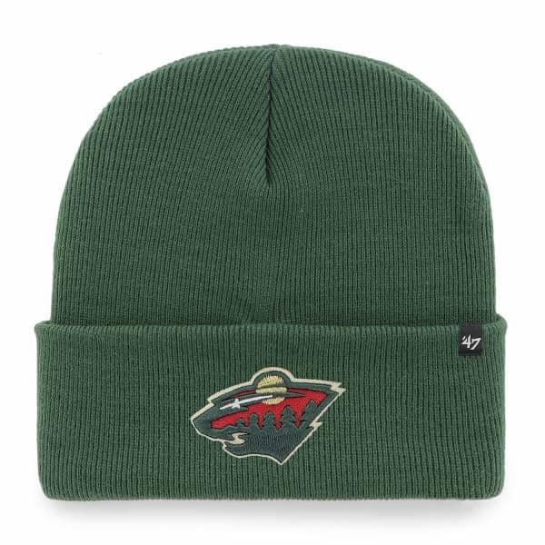 Minnesota Wild '47 Haymaker NHL Beanie Wintermütze Grün