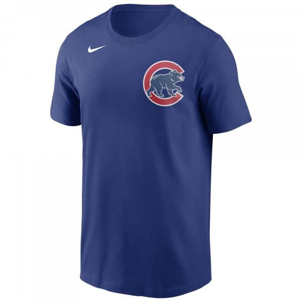 Chicago Cubs Wordmark Nike MLB T-Shirt Blau