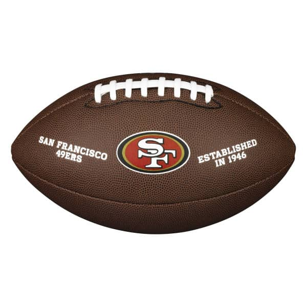 San Francisco 49ers Composite Full Size NFL Football