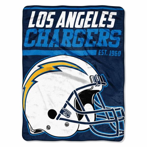 Los Angeles Chargers Super Plush NFL Decke