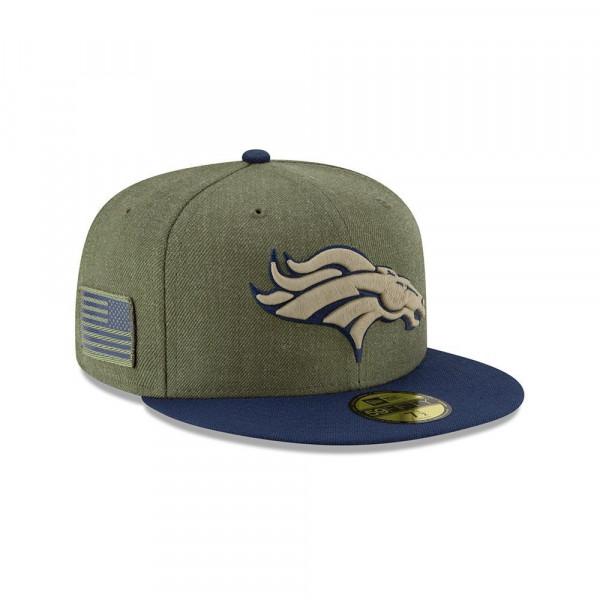 Denver Broncos 2018 Salute to Service 59FIFTY NFL Cap