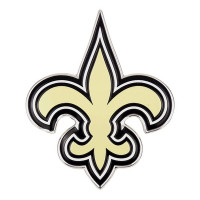 New Orleans Saints Aluminium Color NFL Team Emblem