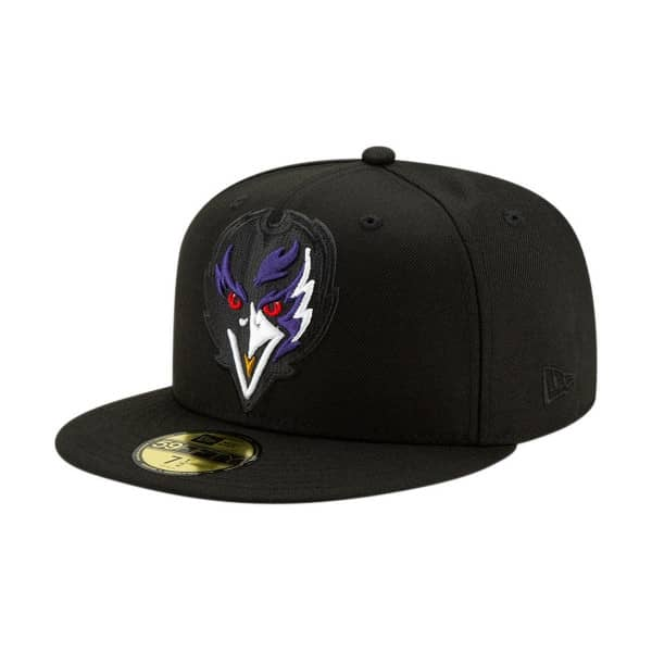 Baltimore Ravens 2.0 Logo Elements New Era 59FIFTY Fitted NFL Cap
