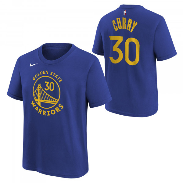 Stephen Curry #30 Golden State Warriors Nike Player NBA T-Shirt (KINDER)