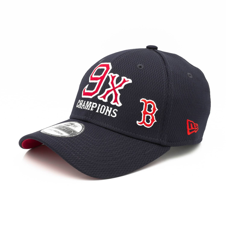 046afc31a New Era Boston Red Sox 9-Time World Series Champions 39THIRTY Flex Fit MLB  Cap | TAASS.com Fan Shop