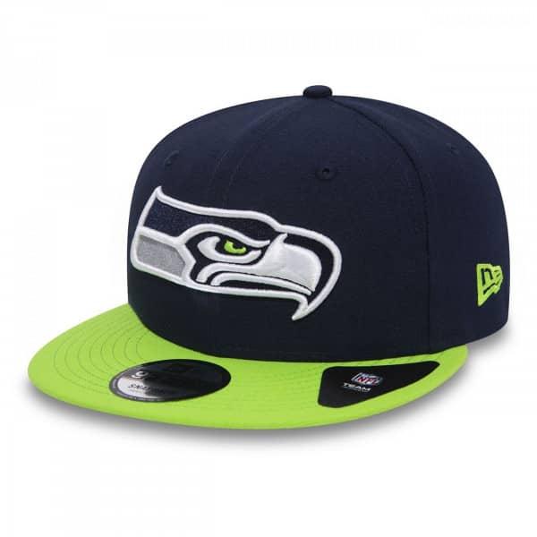super cute 05f31 27fee New Era Seattle Seahawks Team 9FIFTY 2-Tone Snapback NFL Cap   TAASS.com  Fan Shop