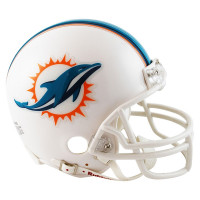 Miami Dolphins American Football NFL Mini Helm