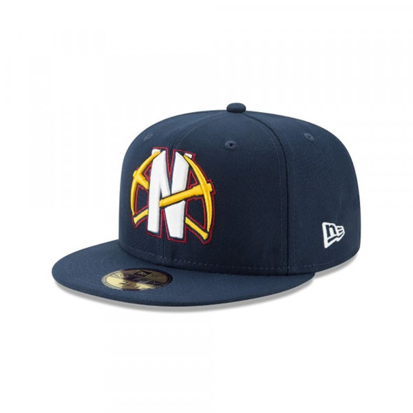 Denver Nuggets 2019 NBA Back Half 59FIFTY Fitted Cap