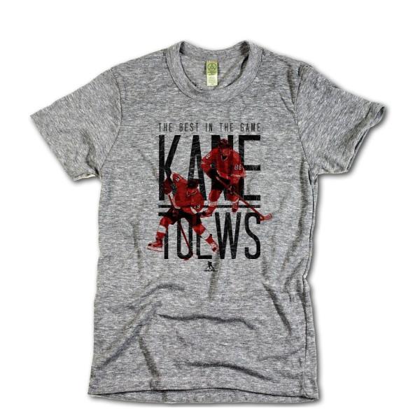 Chicago Blackhawks Kane & Toews NHL T-Shirt Grau
