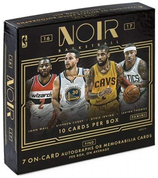 2016/17 Panini Noir Basketball Hobby Box NBA